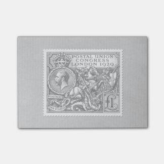 Postal Union Congress 1929 1 Pound Postage Stamp Post-it® Notes