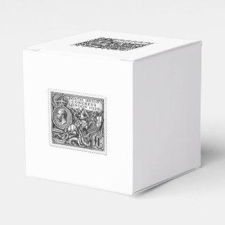 Postal Union Congress 1929 1 Pound Postage Stamp Wedding Favour Box