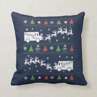 Postal Worker Christmas Cushion