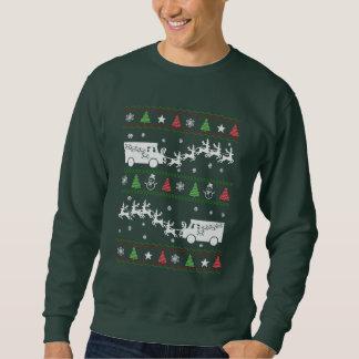 Postal Worker Christmas Pullover Sweatshirts