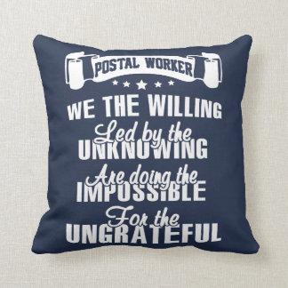 Postal worker cushion