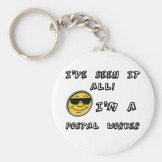 Postal Worker Key Ring