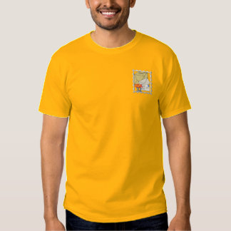 Postal Worker Logo Embroidered T-Shirt