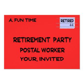 POSTAL WORKER RETIREMENT INVITATIONS