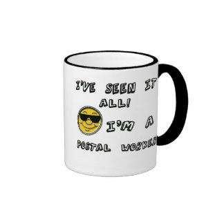 Postal Worker Ringer Mug