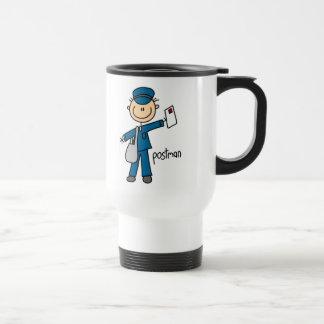 Postal Worker Stick Figure Mug