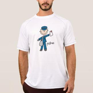 Postal Worker Stick Figure Shirt