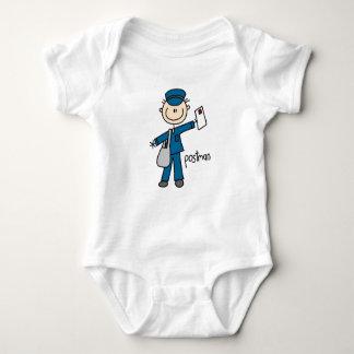 Postal Worker Stick Figure T-shirts