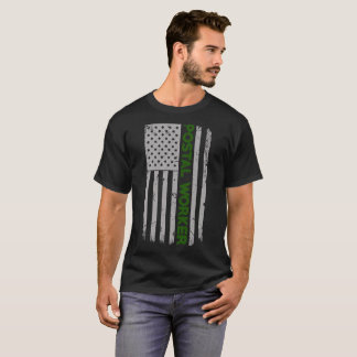 Postal Worker U.S. Flag T-Shirt