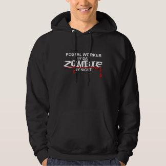 Postal Worker  Zombie Hoodie