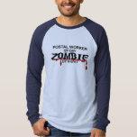 Postal Worker  Zombie T Shirts