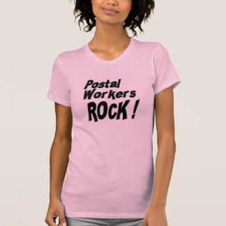 Postal Workers Rock! T-shirt
