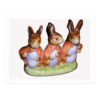 Postard - Flopsy, Mopsy and Cottontail Postcard