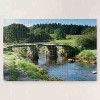 Postbridge Clapper Bridge Jigsaw Puzzle