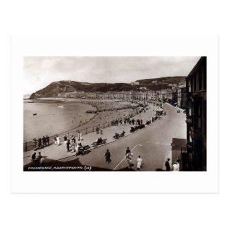 Postcard, Aberystwyth c 1920