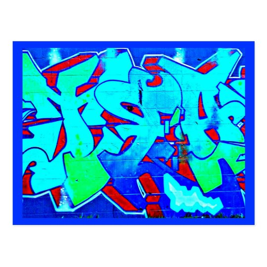 Postcard-Abstract/Misc-Graffiti Gallery 1 Postcard