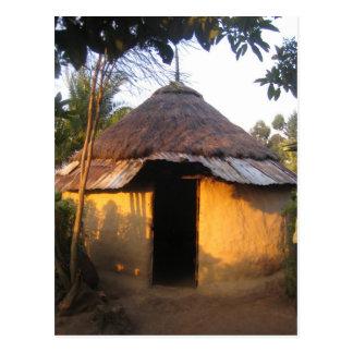 Postcard African kitchen