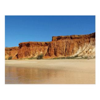 Postcard - Algarve Portugal - Praia de falesia