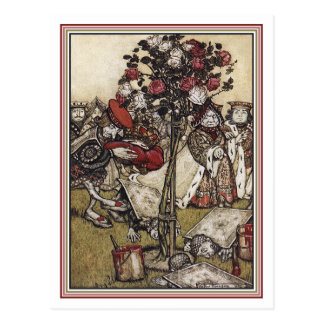 Postcard: Alice and Wonderland - Arthur Rackham Postcard