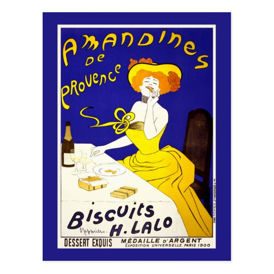 "Postcard: ""Amandines de Provence"" by Cappiello Postcard"