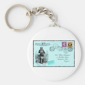 Postcard Art Key Chains