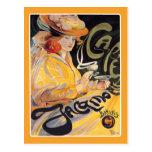 Postcard: Art Nouveau Café