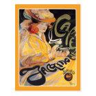 Postcard: Art Nouveau Café Postcard
