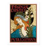 Postcard: Art Nouveau - L.Rhead - Prang's Easter