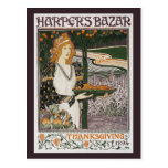 Postcard: Art Nouveau - L.Rhead - Thanksgiving