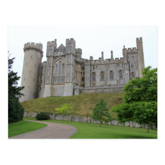 Postcard Arundel Castle Overall, West Sussex the
