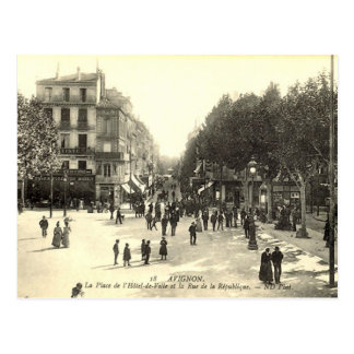 Postcard, Avignon Postcard