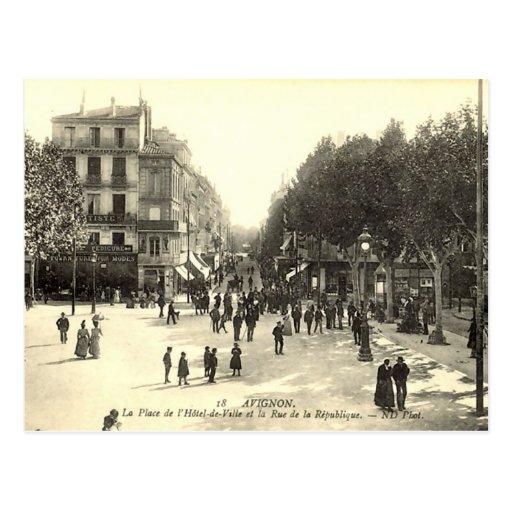 Postcard, Avignon