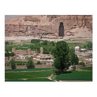 Postcard Bamyan Valley, Afghanistan