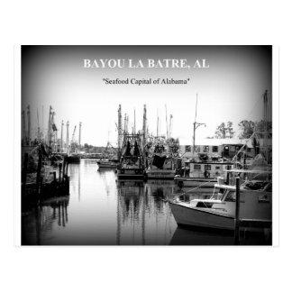 POSTCARD - BAYOU LA BATRE, ALABAMA