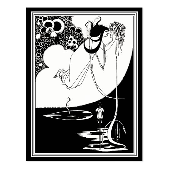 Postcard: Beardsley - The Climax Postcard