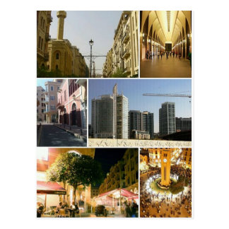 Postcard Beirut Central District, Lebanon