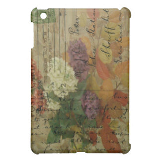 Postcard Blooms Cover For The iPad Mini