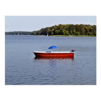 Postcard - boat route