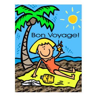 Postcard: Bon Voyage Postcard