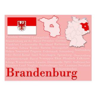 "Postcard ""Brandenburg"""