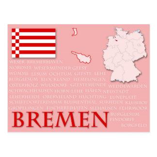 """Postcard """"Bremen"""""""