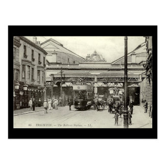 Postcard - Brighton Station