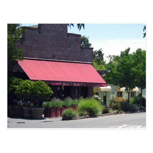 Postcard - Buchon Restaurant & Bakery CA