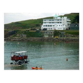 Postcard Burgh Island Hotel, Devon, England