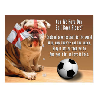 Postcard - Can We Have Our Ball Ba - Customized
