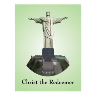 Postcard: Christ the Redeemer Statue Postcard