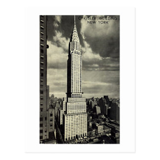 Postcard, Chrysler Building, New York City Postcard