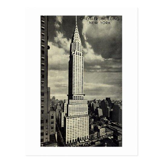 Postcard, Chrysler Building, New York City Postcard