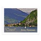 "postcard, ""CIAO!"" FROM VARENNA/ITALIAN LAKE DISTRI Postcard"
