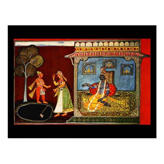 Postcard-Classic Art-Indischer Maler 22 Postcard